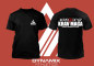 Preview: Dynamix Athletics T-Shirt Krav Maga Combat - Black