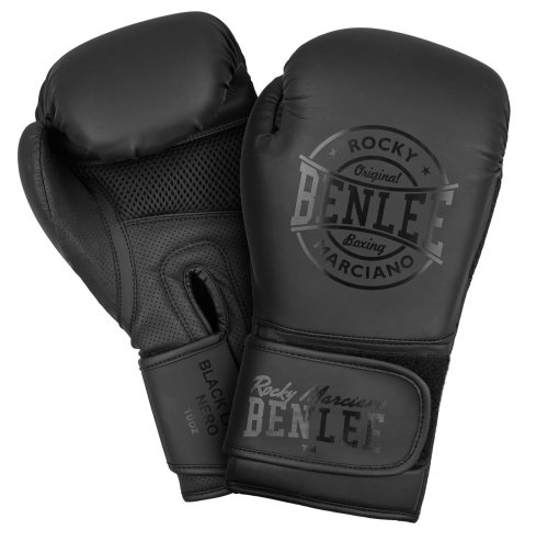 BENLEE Rocky Marciano Boxhandschuhe Black Label Nero