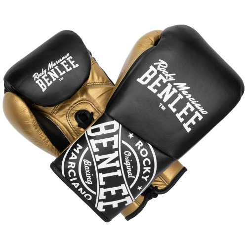 BENLEE Rocky Marciano Boxing Gloves Cyclone Gold/White/Black