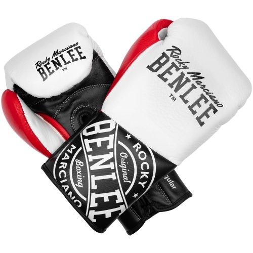BENLEE Rocky Marciano Boxing Gloves Cyclone White/Black/Red