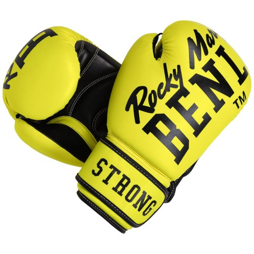 BENLEE Rocky Marciano Boxhandschuhe CHUNKY B - Neon Gelb