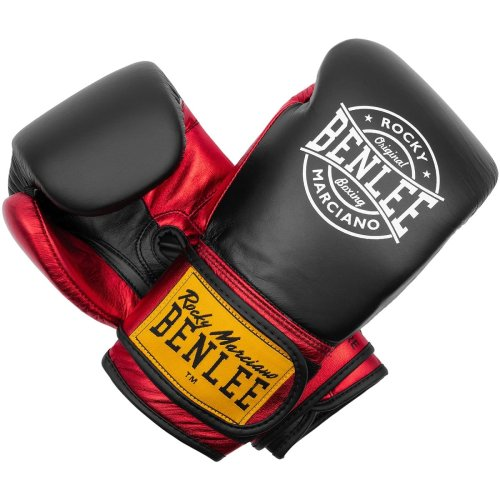 BENLEE Rocky Marciano Boxing Gloves Metalshire Black/Red