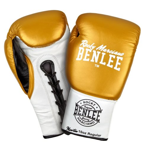 BENLEE Rocky Marciano Boxing Gloves Newton Gold/White