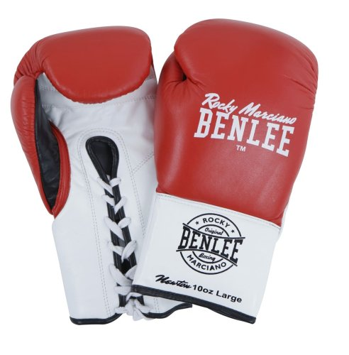 BENLEE Rocky Marciano Boxing Gloves Newton Red/White