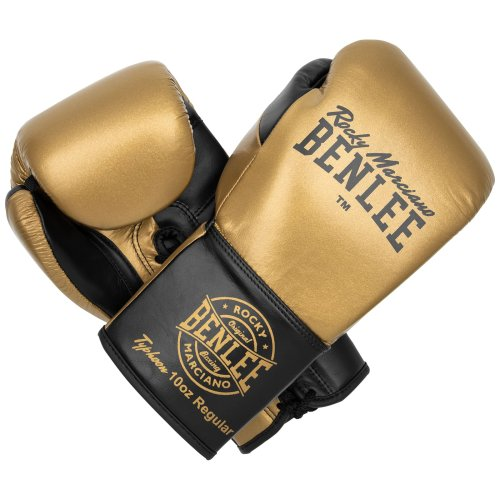 BENLEE Rocky Marciano Boxing Gloves Typhoon Gold/Black