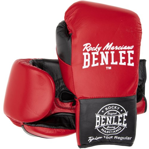 BENLEE Rocky Marciano Boxing Gloves Typhoon Red/Black