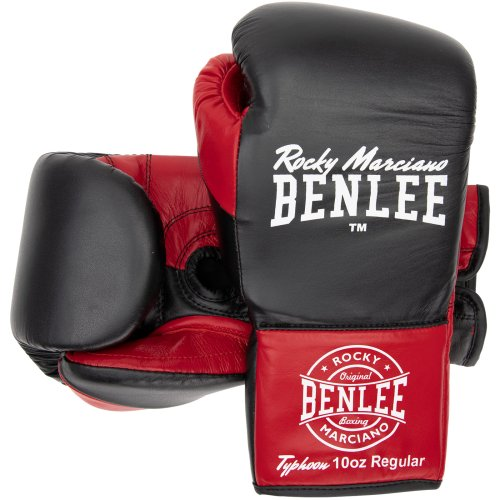 BENLEE Rocky Marciano Boxing Gloves Typhoon Black/Red