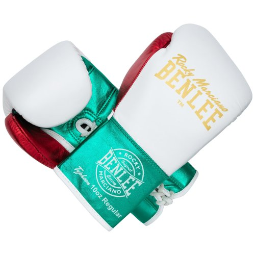 BENLEE Rocky Marciano Boxing Gloves Typhoon White/Green
