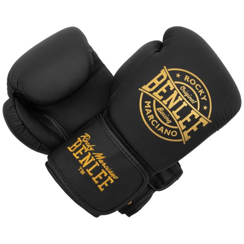 BENLEE Rocky Marciano Boxing Gloves Wakefield Black/Gold