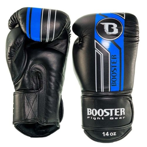 Booster Fightgear Boxing Gloves BGVL 9 Black/Blue