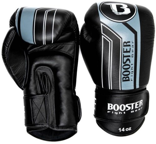 Booster Fightgear Boxing Gloves BGVL 9 Black/Grey