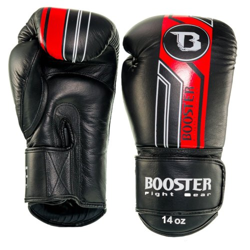 Booster Fightgear Boxing Gloves BGVL 9 Black/Red