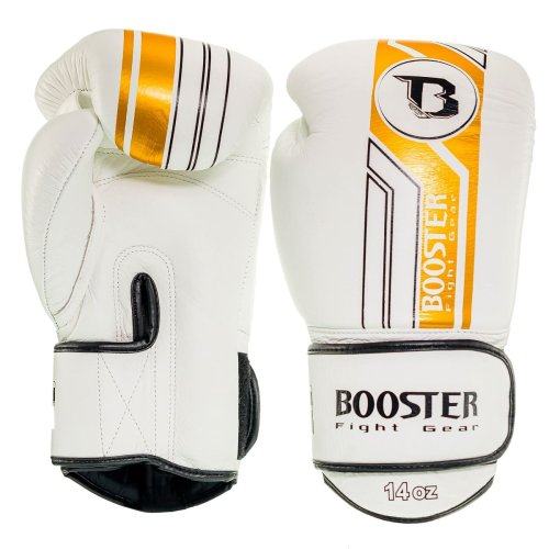 Booster Fightgear Boxing Gloves BGVL 9 White/Gold