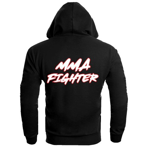 Dynamix Athletics Hoodie MMA Fighter - Black