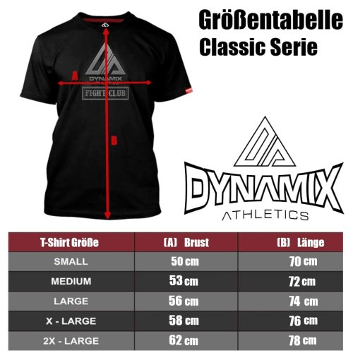 Dynamix Athletics T-Shirt Muay Thai Classic - Weiß