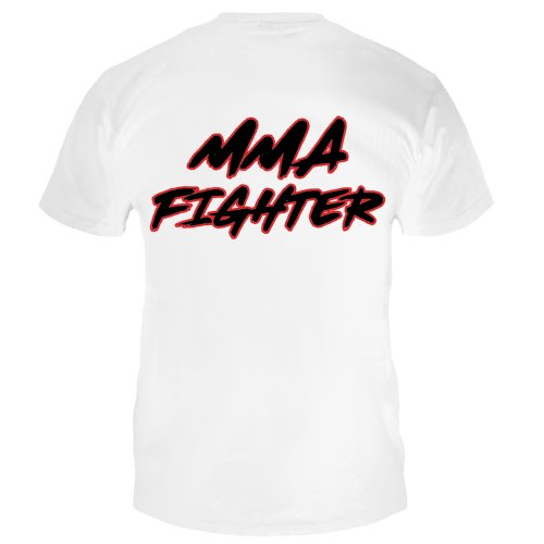 Dynamix Athletics T-Shirt MMA Fighter - White