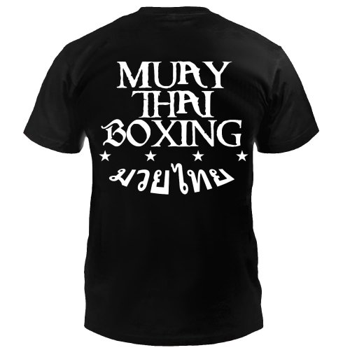 Dynamix Athletics T-Shirt Muay Thai Boxing - Schwarz