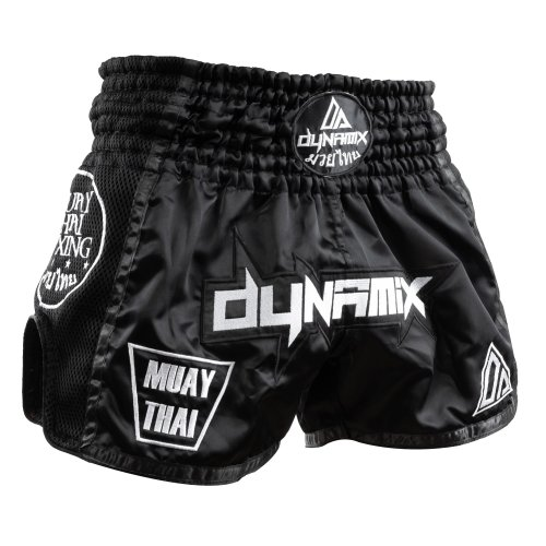 Dynamix Athletics Muay Thai Shorts Warpath Schwarz