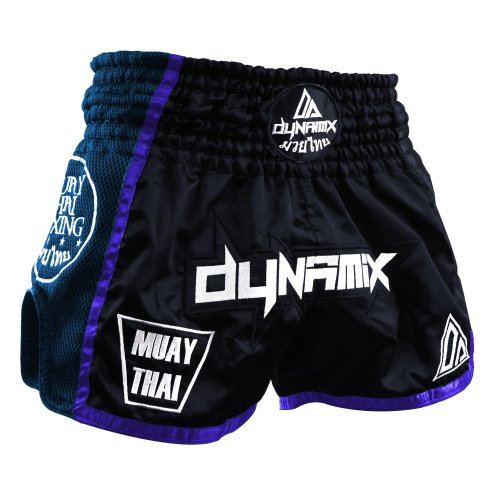 Dynamix Athletics Muay Thai Shorts Warpath Navy Blau