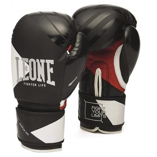 Leone 1947 Boxing Gloves Fighter Life - Black
