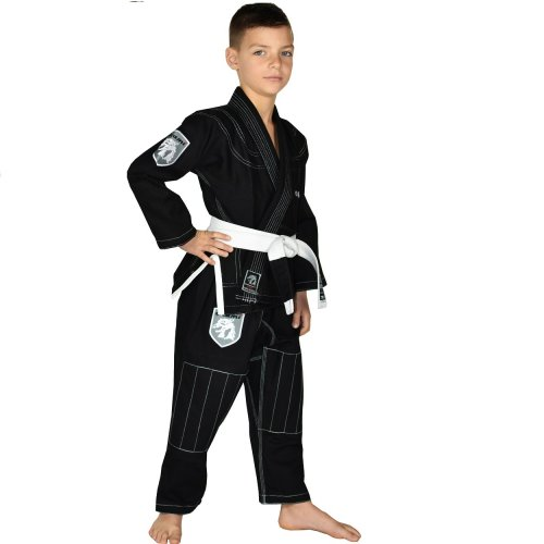 Okami Fightgear Kids BJJ Gi Shield Black