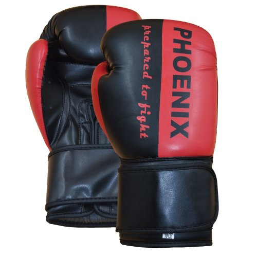 PX Boxhandschuhe Prepared to Fight Schwarz/Rot