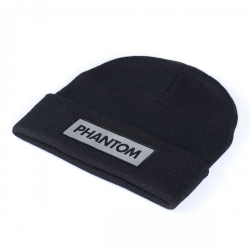 Phantom Athletics Beanie Laser Schwarz