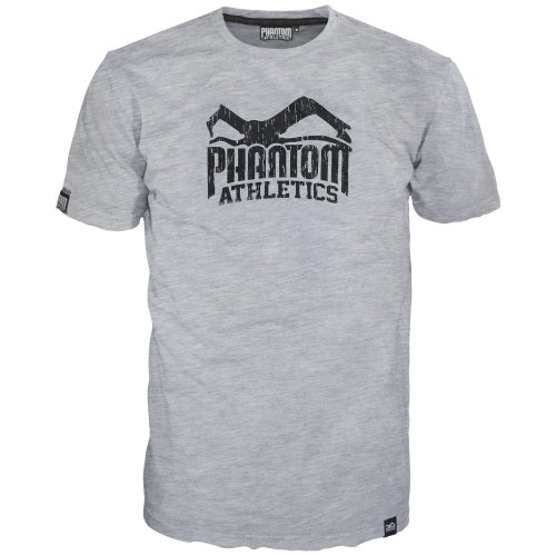 Phantom Athletics T-Shirt MMA Sports Grey