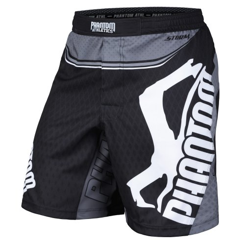 Phantom Athletics Fight Shorts Storm Nitro - Black/Gray
