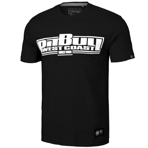 Pit Bull West Coast T-Shirt Classic Boxing Schwarz