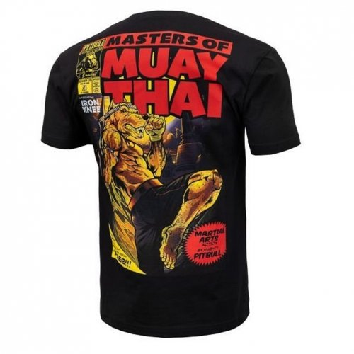 Pit Bull West Coast T-Shirt Master of Muay Thai