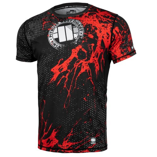 Pit Bull West Coast Training Shirt MESH - Blood Dog