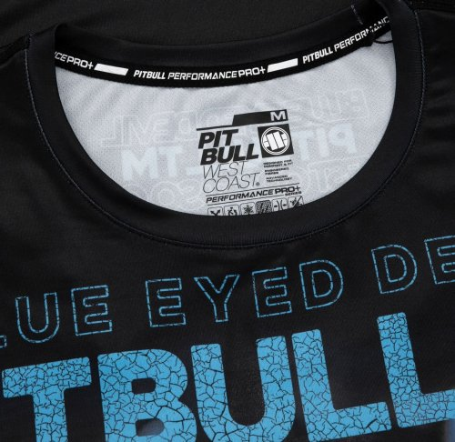 Pit Bull West Coast Training Shirt MESH - Blue Eyed Devil