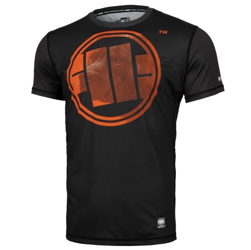 Pit Bull West Coast Training Shirt MESH - Orange Dog
