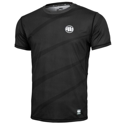 Pit Bull West Coast Training Shirt MESH Net Schwarz - Small Logo