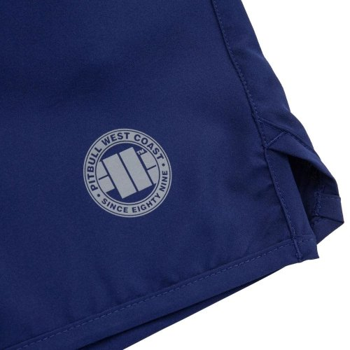 Pit Bull West Coast Training Shorts Performance Navy Blau