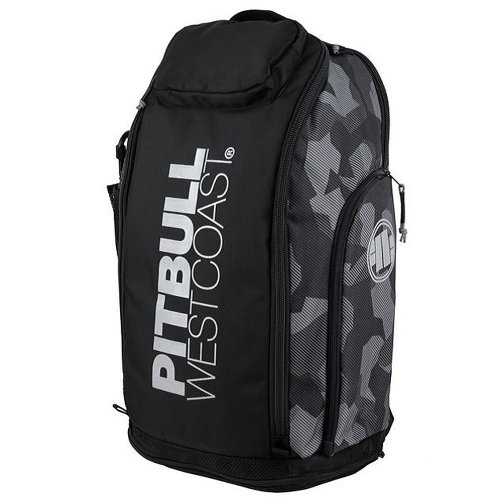 Pit Bull West Coast Rucksack Airway Camo Grau