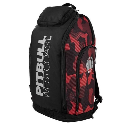Pit Bull West Coast Rucksack Airway Camo Rot