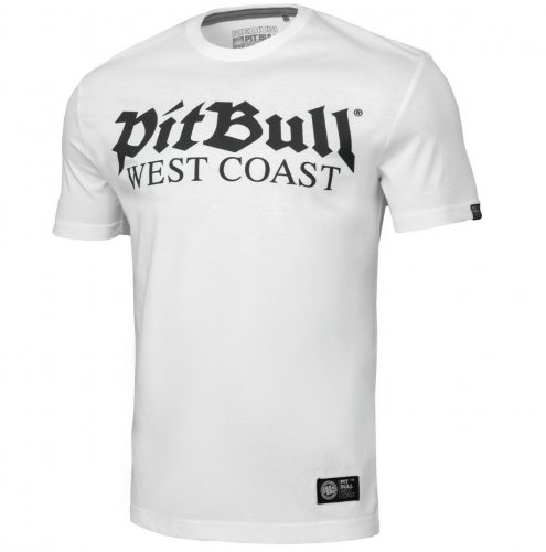 Pit Bull West Coast T-Shirt Old Logo Weiß