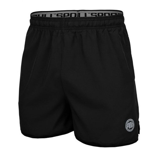 Pit Bull West Coast Training Shorts Performance Schwarz