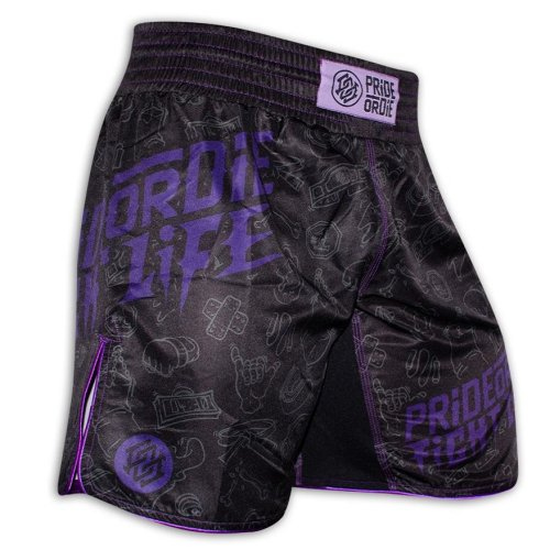 Pride or Die Fight Shorts FIGHT LIFE