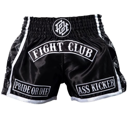 Pride or Die Muay Thai Shorts Fight Club