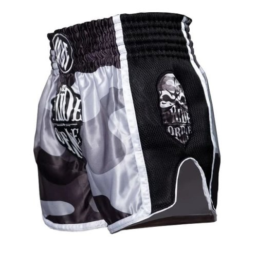 Pride or Die Muay Thai Shorts Reckless Urban Camo