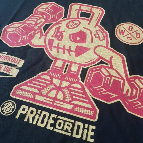 Pride or Die T-Shirt Workout or Die