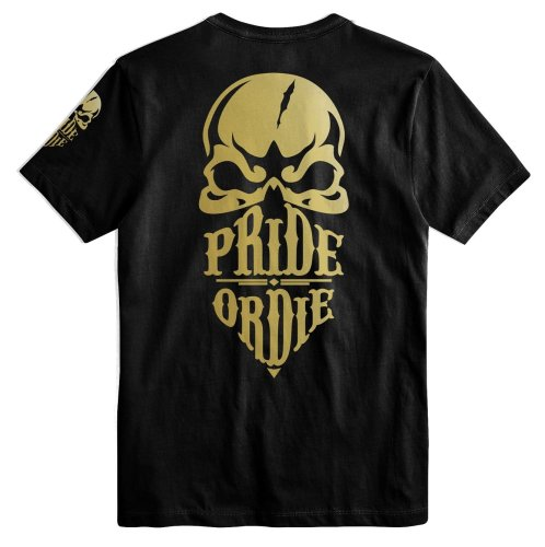 Pride or Die T-Shirt Reckless Gold