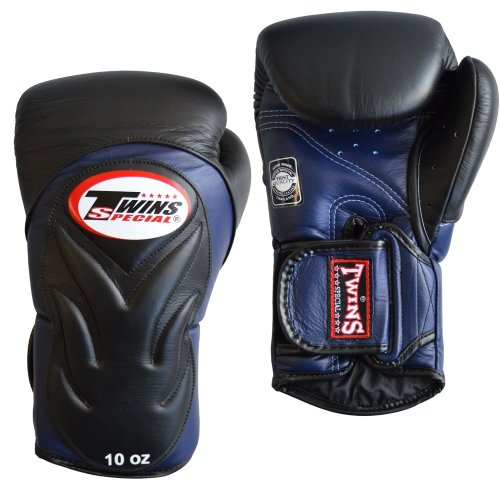 Twins Boxing Gloves BGVL 6 Black/Blue