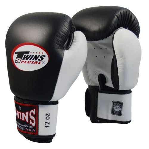 Twins Boxing Gloves Black/White
