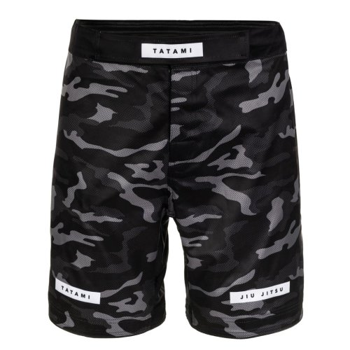 Tatami Fightwear Grappling Fight Shorts Rival Schwarz/Camo