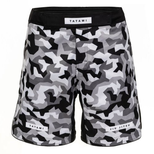 Tatami Fightwear Grappling Fight Shorts Rival Weiß/Camo