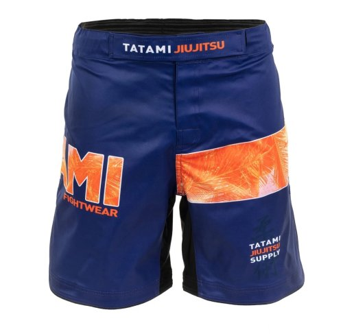 Tatami Fightwear Grappling Fight Shorts Tropic Navy